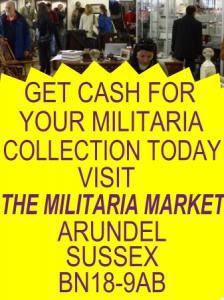 Militaria cash