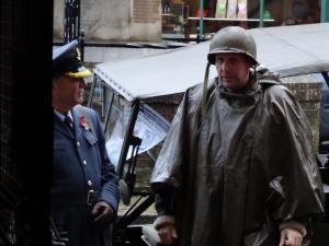 reenactors at the militaria