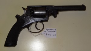 "A Dean Adams ""Dragoon"" Revolver N0 30434 . Price £970 10/12/13"