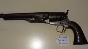 A Colt New Model Navy  Number 166272 Price £1500 10/12/13