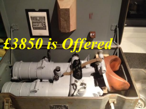 cased 18x18 binoculars