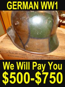 Arundel first world war helmet
